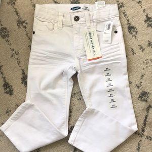 🍊 3 for $25 - Old Navy White Denim Jeans